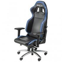 Sedia ufficio Sparco nero-blu