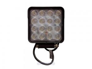 Faro da lavoro LED quadrato tipo flood - 25W 3040lm
